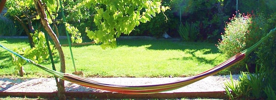 Entspannen Sie im Garten